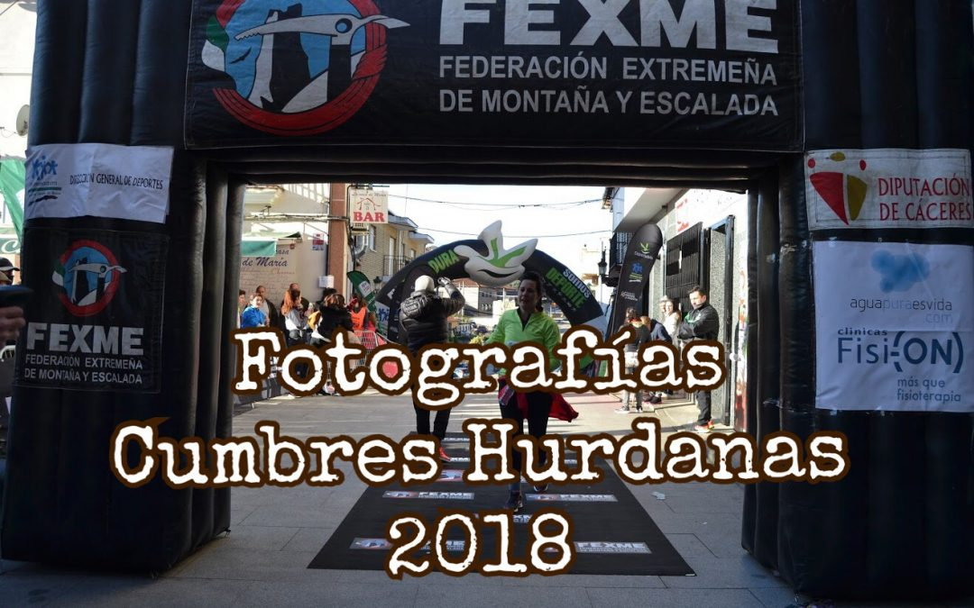 Fotografías Cumbres Hurdanas 2018