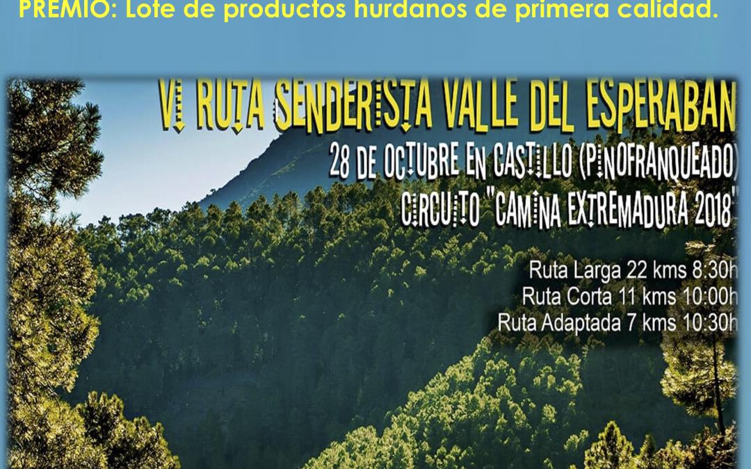 V Concurso Fotográfico Ruta del Esperabán