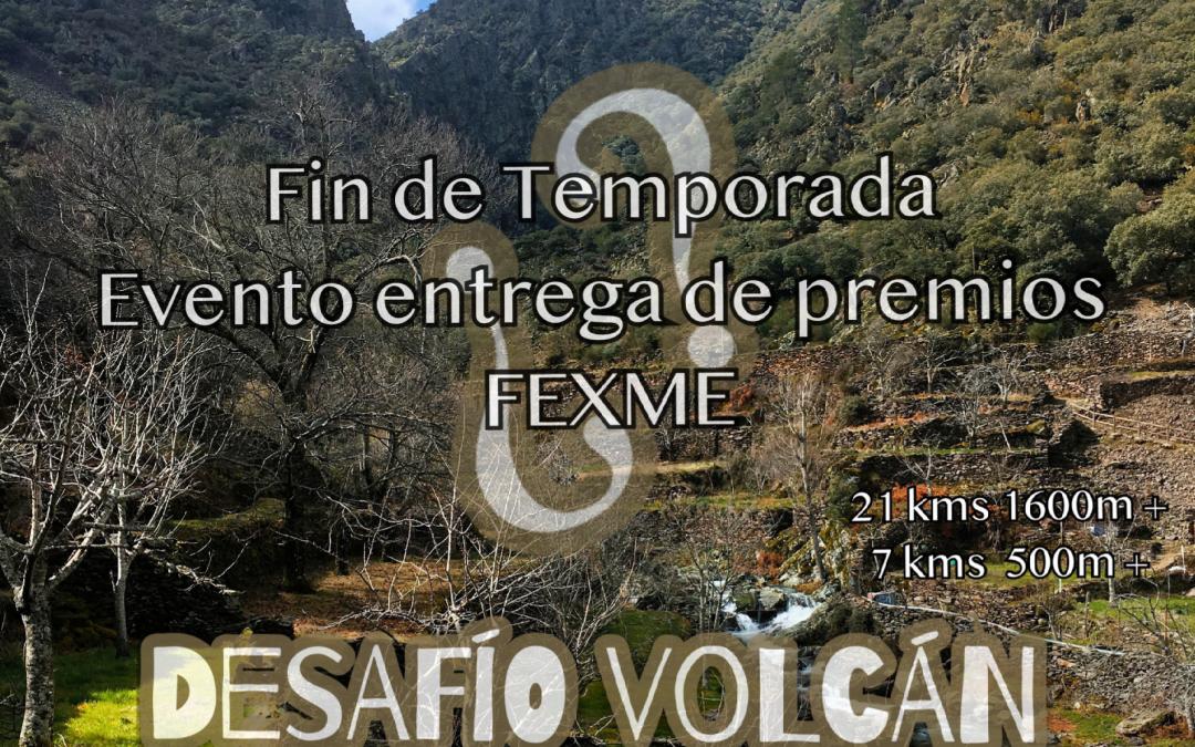 Desafío Volcán. Evento entrega de premios FEXME.