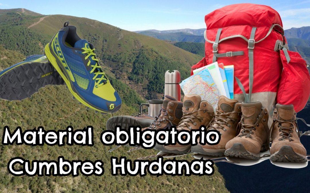 Material Obligatorio Cumbres Hurdanas