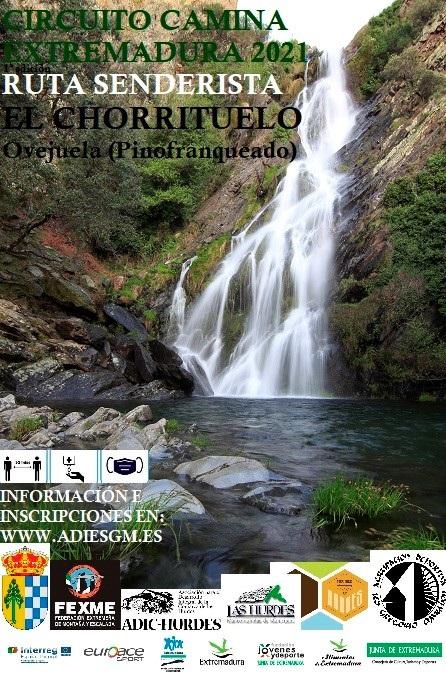 Camina Extremadura 2021. Chorrituelo 1ª Edición